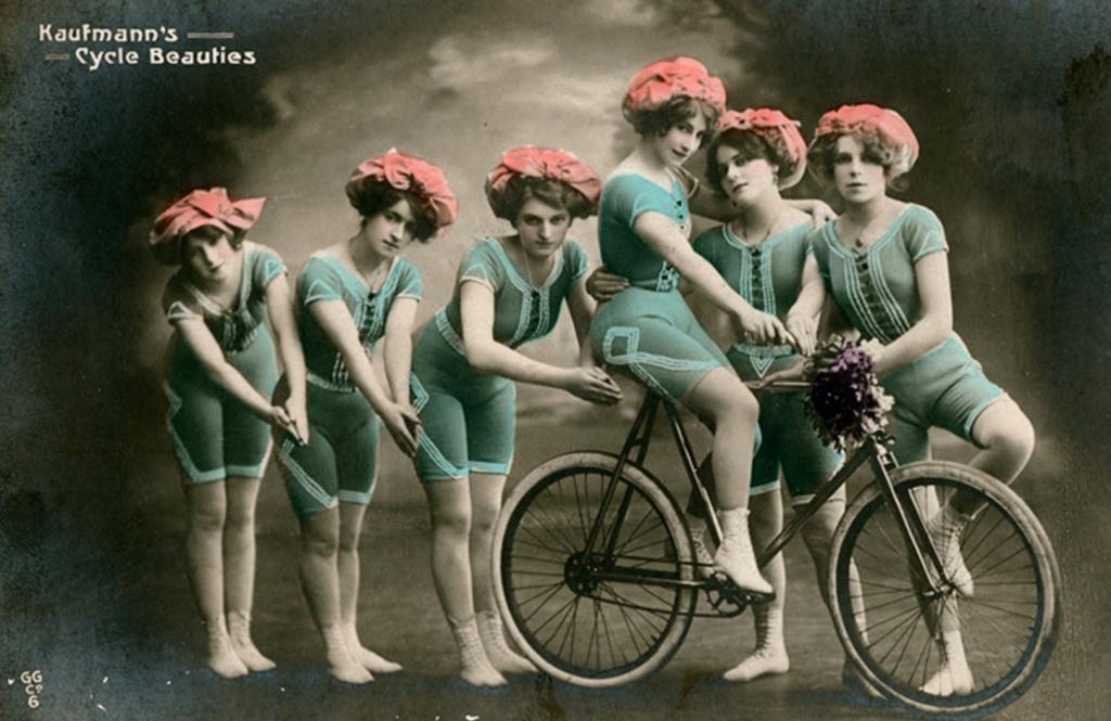 Rower dziewczyny