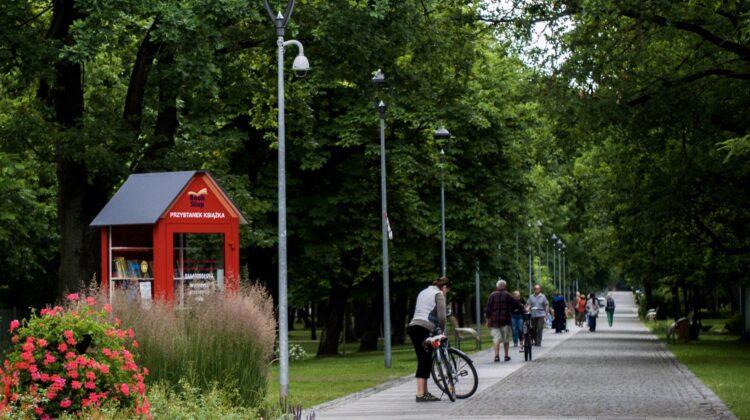 Park Zdrojowy ścieżki rowerowe Konstancin-Jeziorna
